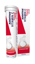 Additiva Vitamin C Blutorange šumivé tablety