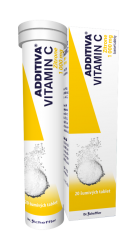 Additiva Vitamin C Zitrone šumivé tablety