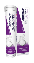 Additiva Multivitamin + Mineral + Kofein Ananas šumivé tablety