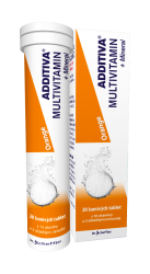 Additiva Multivitamin + Mineral Orange šumivé tablety
