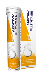 Additiva Multivitamin Orange šumivé tablety