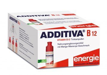 Additiva B12 Shots, 30 ampúl