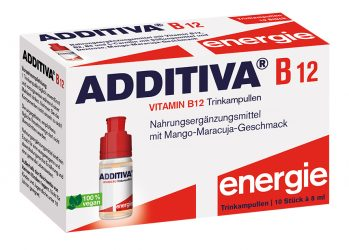 Additiva B12 Shots, 10 ampúl